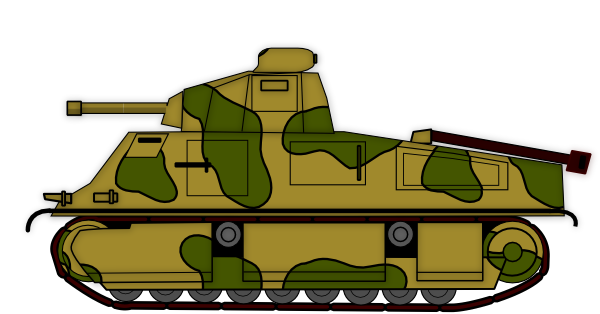 Army Tank Clip Art At Clker Com Vector C-Army Tank Clip Art At Clker Com Vector Clip Art Online Royalty Free-5