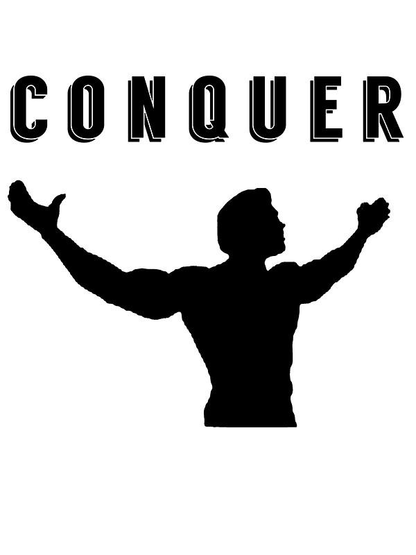 Arnold Schwarzenegger Gym T-shirt Conque-arnold schwarzenegger gym t-shirt conquer by Nimus Vancel-5