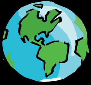 around the world clipart