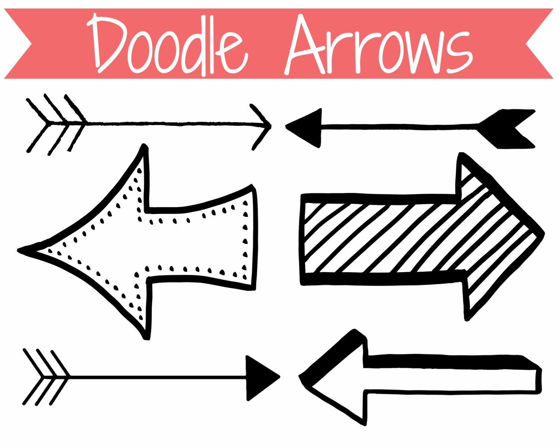 Arrow Clip Art Doodle Arrows Clip Art-Arrow Clip Art Doodle Arrows Clip Art-6