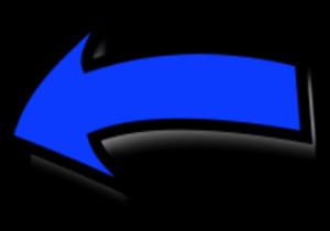 Arrow Pointing Left Vector Clip Art