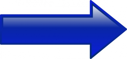 Arrow-right-blue clip art - Download free Other vectors