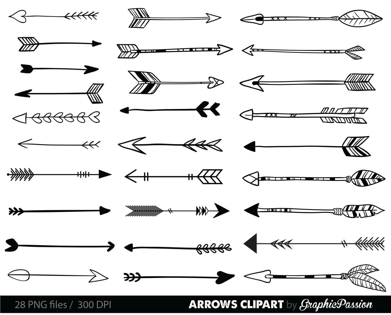 Here are arrow clip-art. Ever