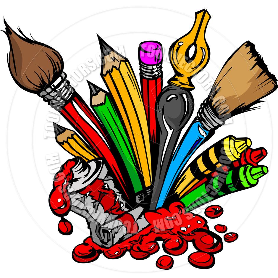 Art Supplies Clipart-art supplies clipart-4