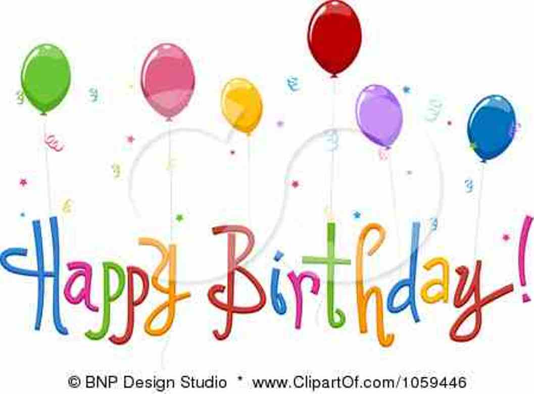 Happy Birthday with animated