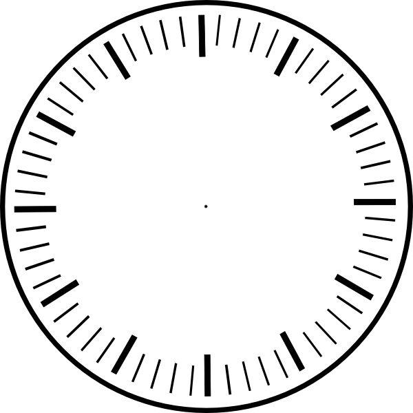 art clock face template | Clock Face, ho-art clock face template | Clock Face, hour and minute marks, no hands clip u0026middot; Printable ClipartTemplate ...-13