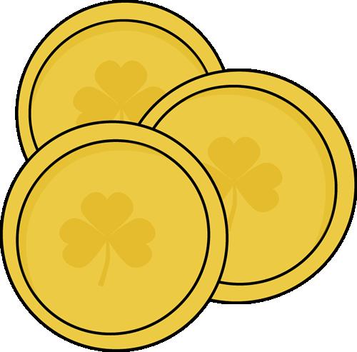 Gold Coin Clip Art