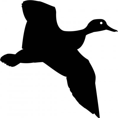 Art ... Duck Silhouette .-Art ... Duck Silhouette .-9