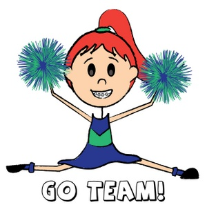 Art Images Cheerleader Stock Photos Clip-Art Images Cheerleader Stock Photos Clipart Cheerleader Pictures-0