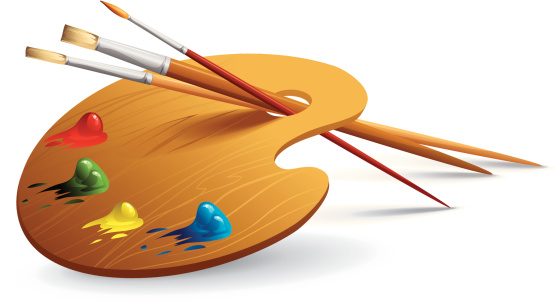 Art Palette Clip Art-Art Palette Clip Art-4