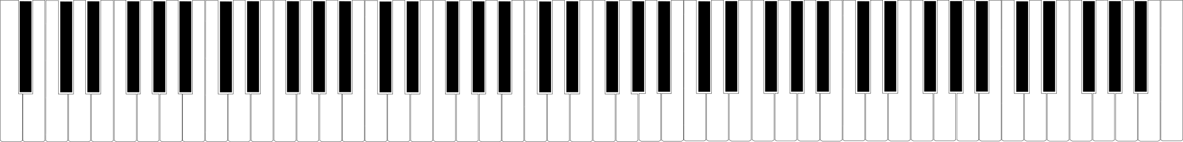Art Piano Keys Free Cliparts That You Can Download To You Computer
