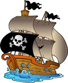 Pirate Ship Clip Art