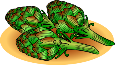 Artichoke Clip Art - Artichokes Clipart