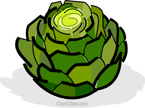 Artichokes Royalty Free Vector Clip Art -artichokes Royalty Free Vector Clip Art illustration-14