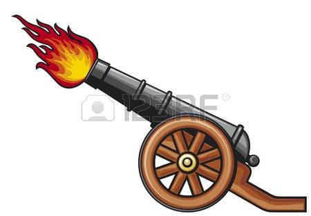 ancient cannon, old artillery cannon