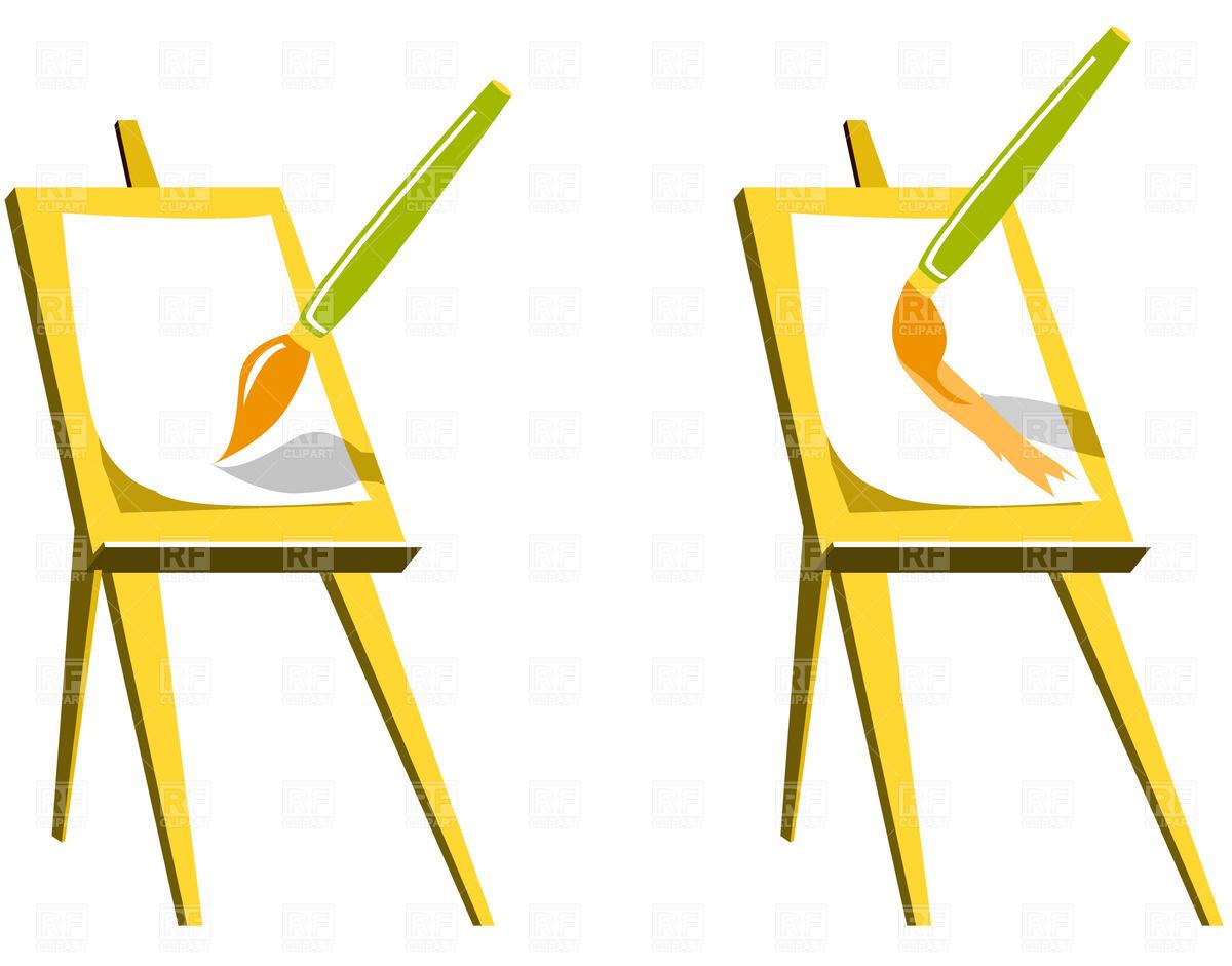 artist easel clipart-artist easel clipart-15