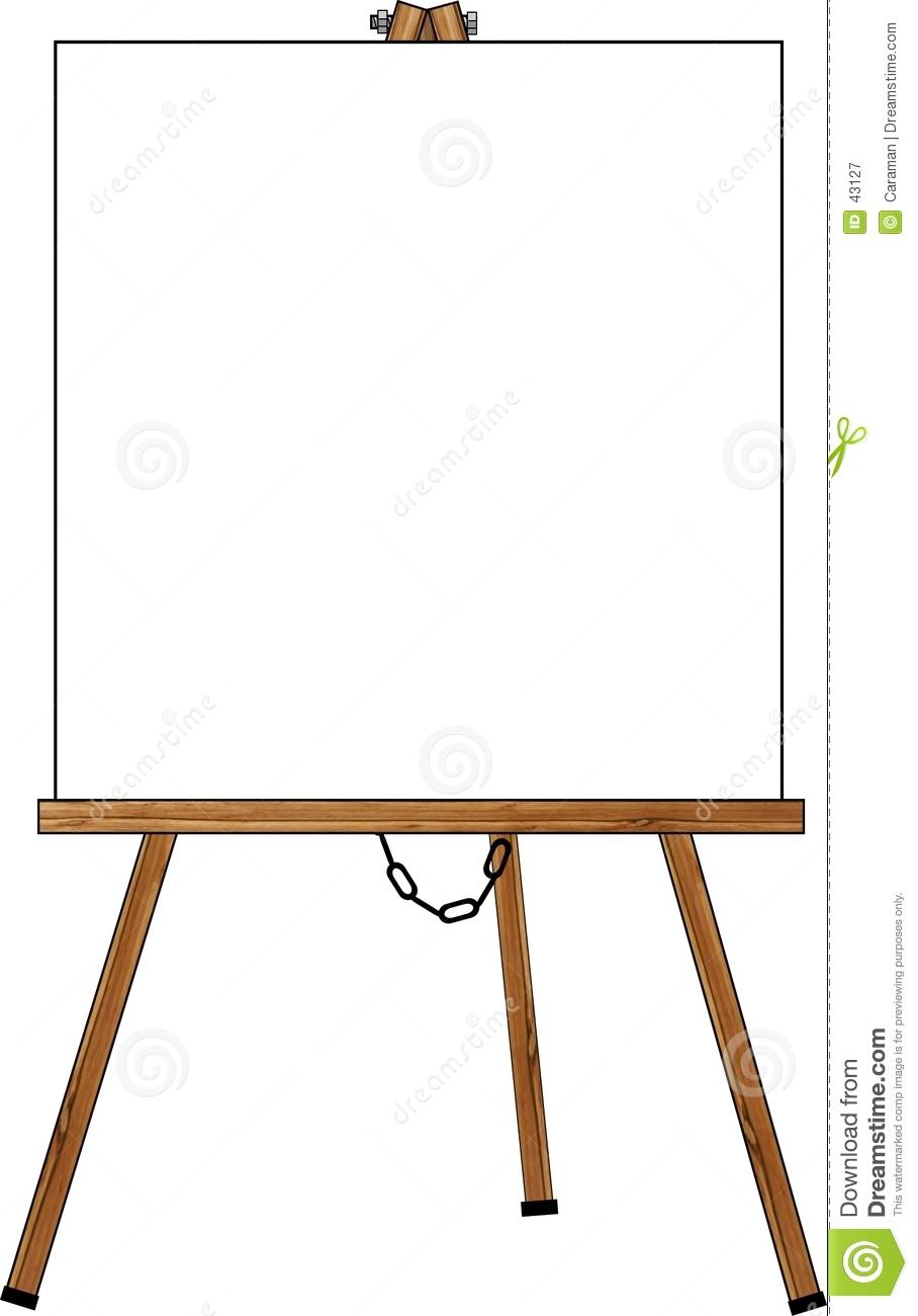 artist easel clipart-artist easel clipart-16
