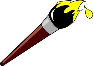 Artist Paint Brush Clip Art-artist paint brush clip art-0