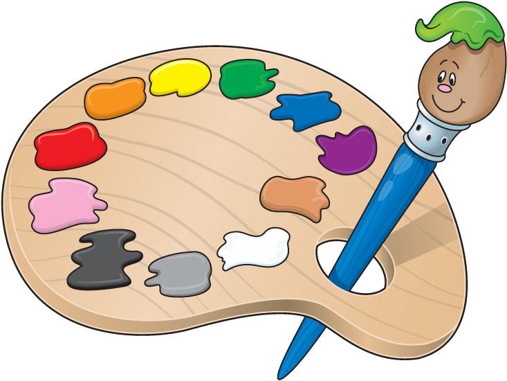 Artist Palette Clipart-artist palette clipart-6