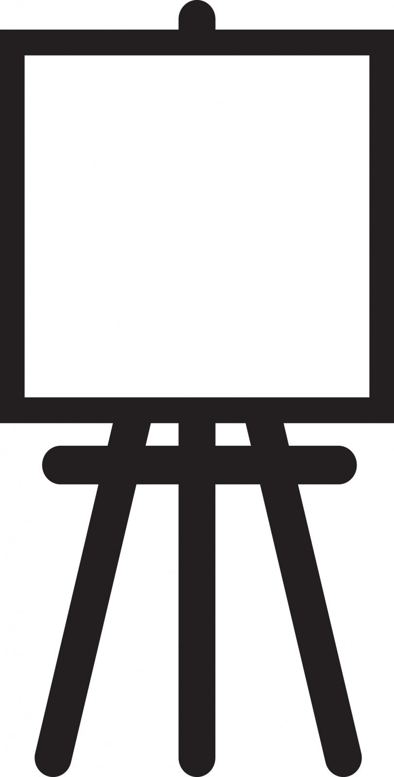 Artist Easel Clip Art-Artist Easel Clip Art-2