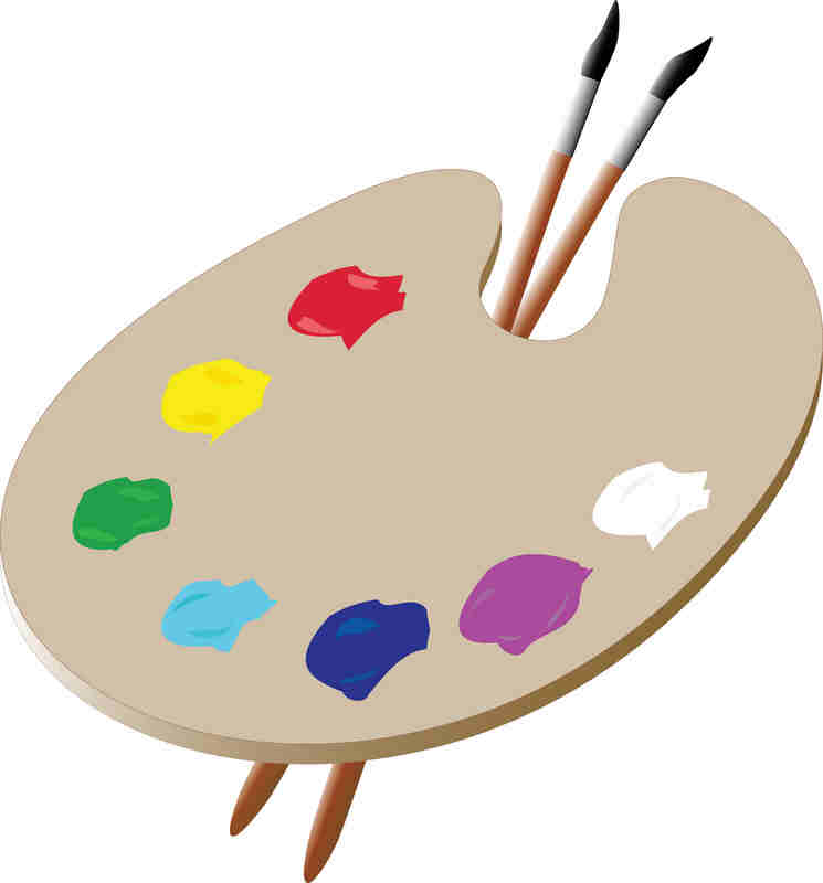 Artist Palette Template