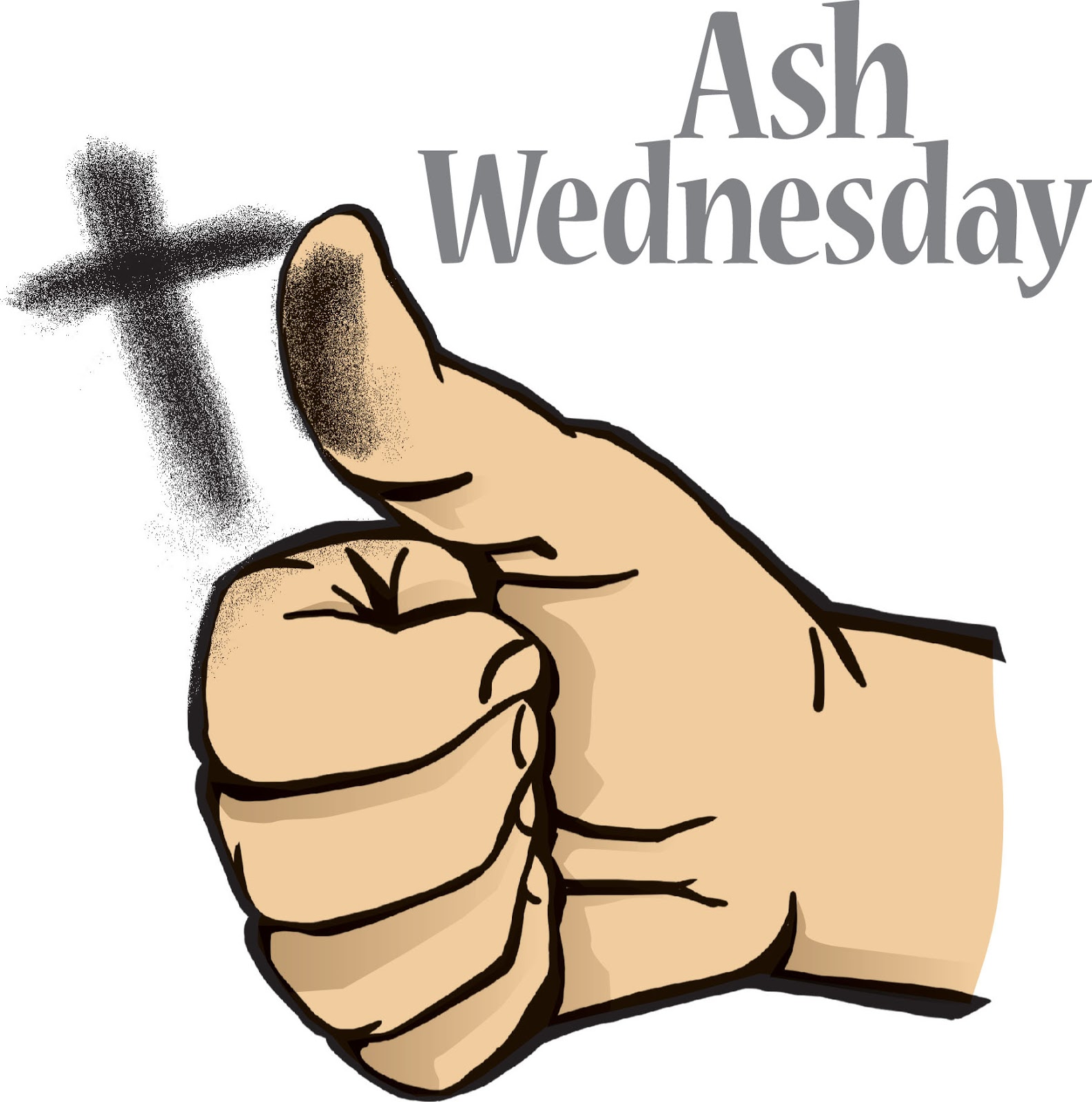 Ash Wednesday Clip Art