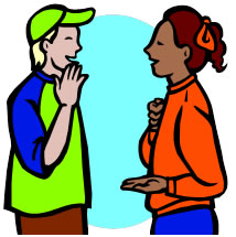 Asl Sign Language Clipart #1