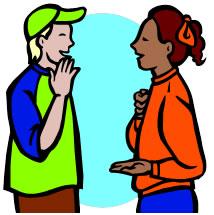 Asl Sign Language Clipart #1