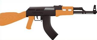 AK 47 Military Assault Rifle