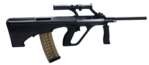 Assault clipart: assault rifle clipart 5