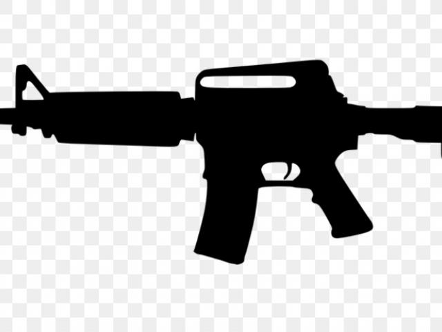 Assault Rifle Clipart automatic