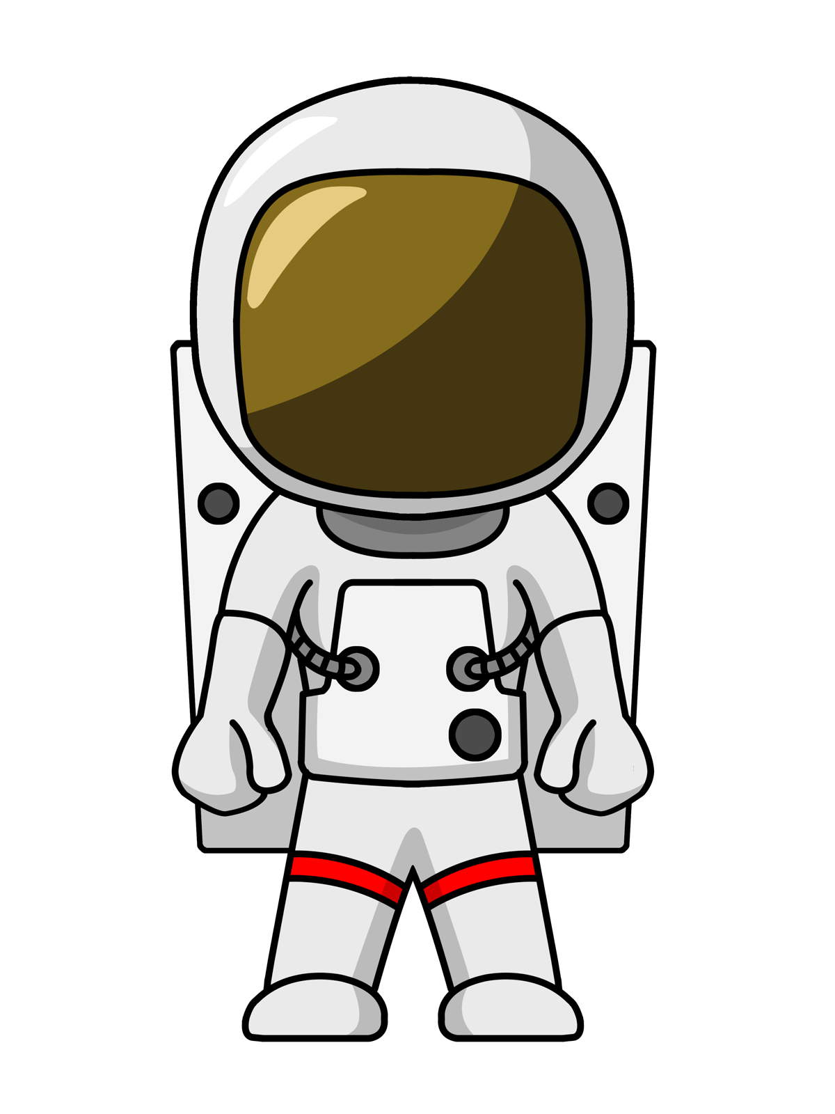 Astronaut Clipart Free-Astronaut Clipart Free-0