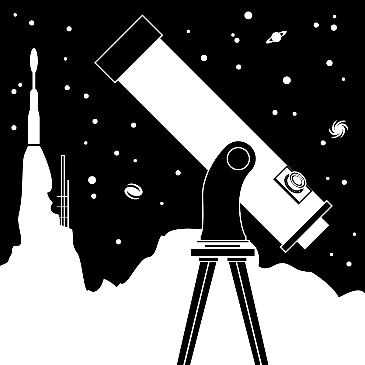 Astronomy Free Clipart #1