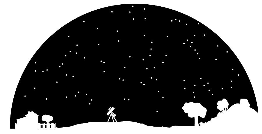 Astronomy Night Sky-Astronomy Night Sky-4
