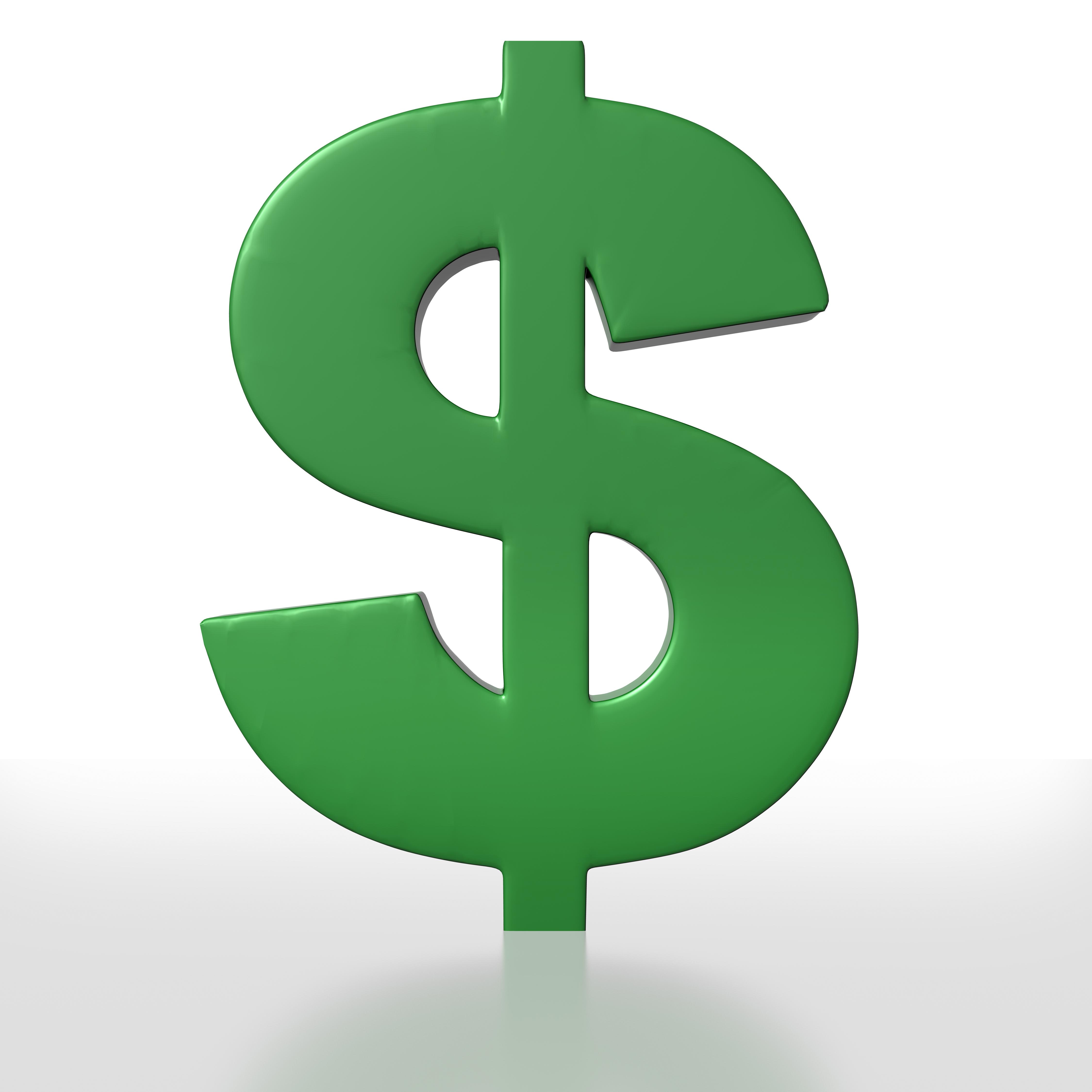 Clip Art Dollar Sign