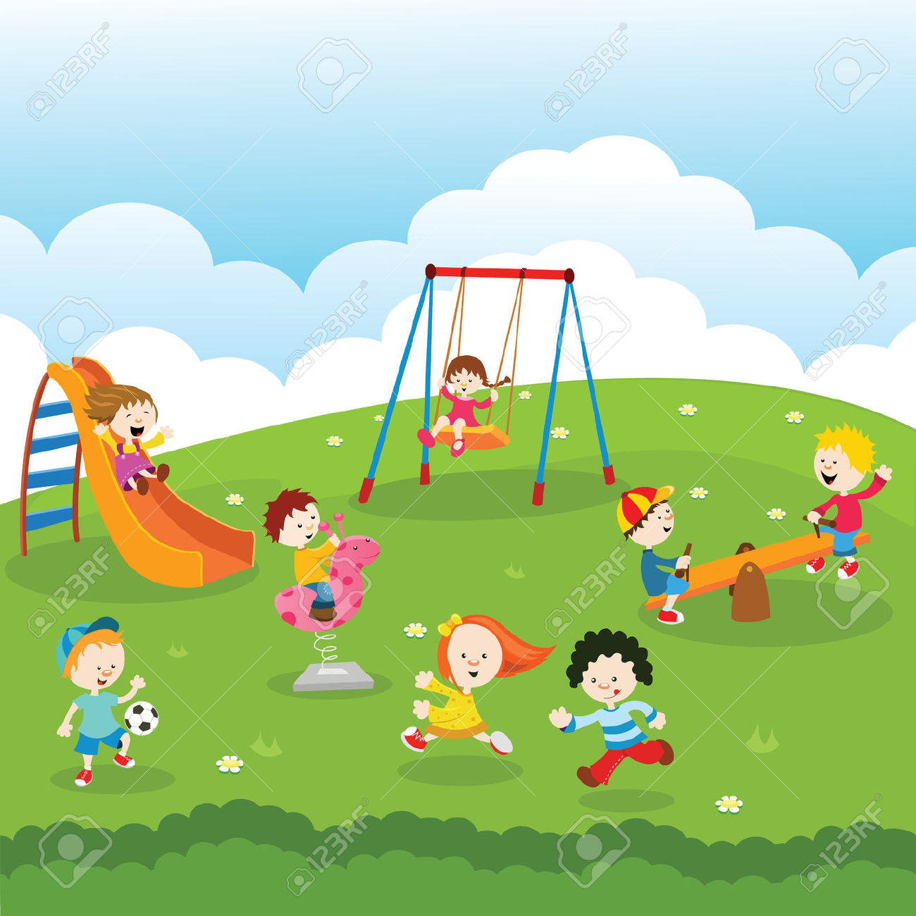 At The Park Clip Art-At the Park Clip Art-0