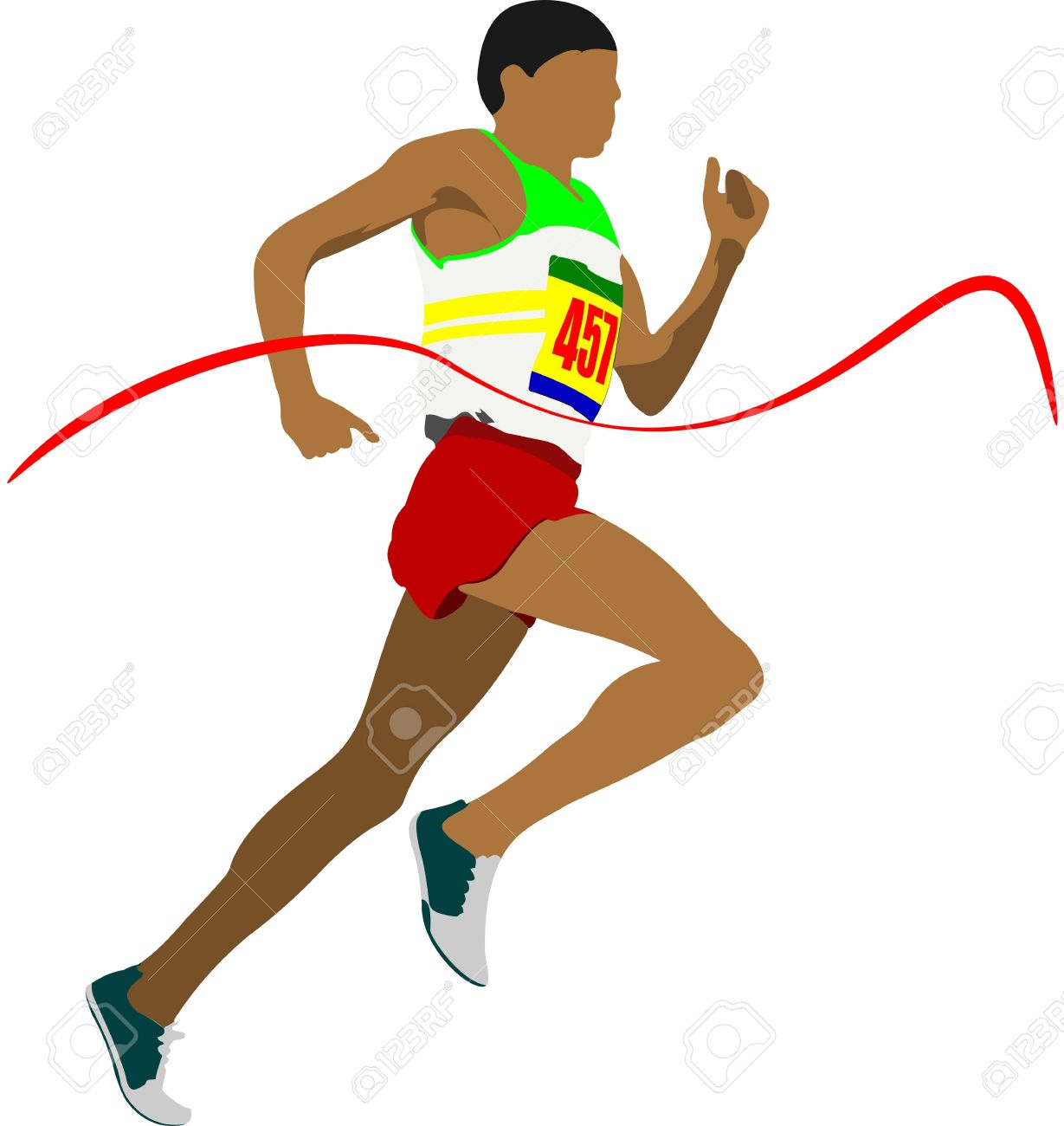 Athletic Clip Art