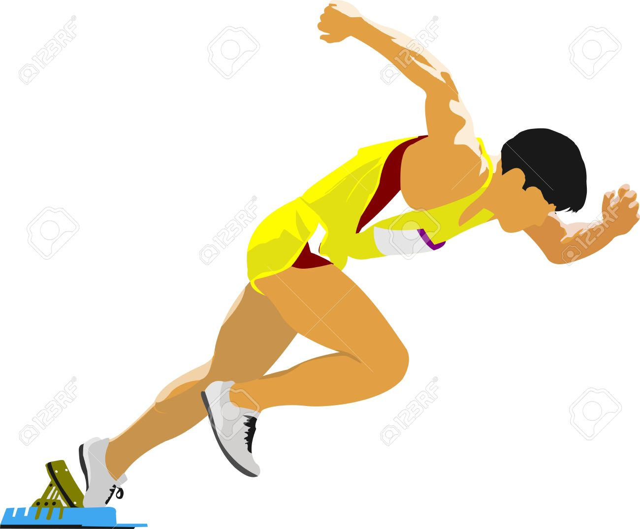 Athlete Clipart-athlete clipart-1