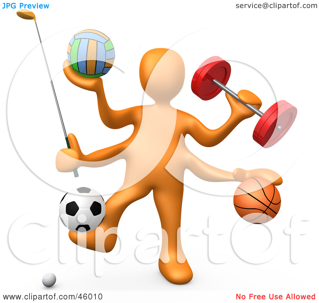 Athletic Clip Art