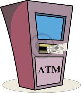 Small Atm Clipart #1