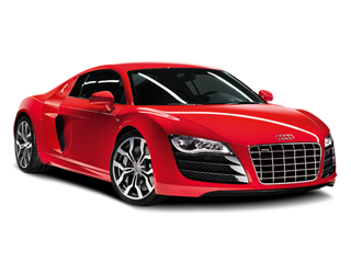 Red audi R8 PNG image - Audi Clipart