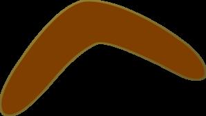 Aussie Brown Boomerang. »
