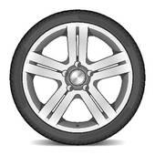 auto mechanic with wheel u0026middot; Car wheel