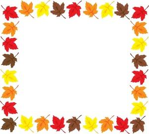 Fall Border Clipart