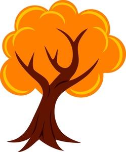 Autumn Tree Clip Art-Autumn Tree Clip Art-1