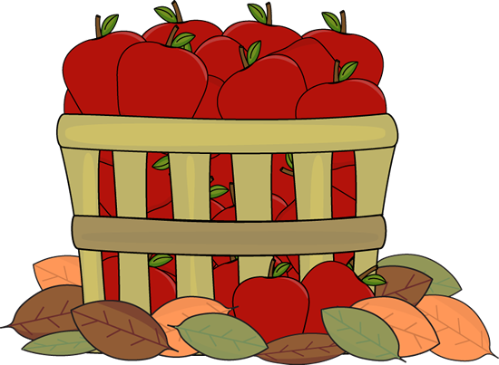 Autumn Apples - Fall Images Clip Art