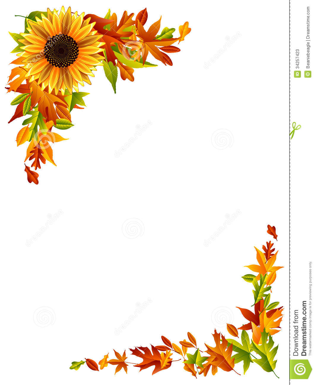 Autumn Clip Art. Resolution 1065x1300 . Resolution 1065x1300 . Free Thanksgiving Borders And Frames ...