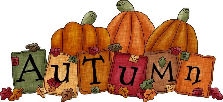 Happy Fall Clip Art