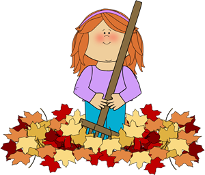 Girl Raking Leaves-Girl Raking Leaves-13