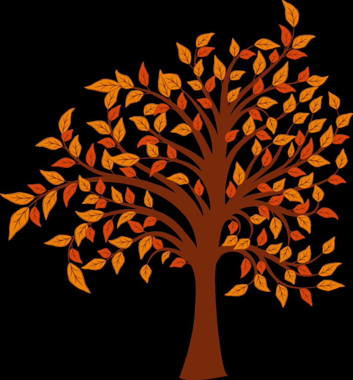 Autumn Tree Clipart - .-Autumn tree clipart - .-2